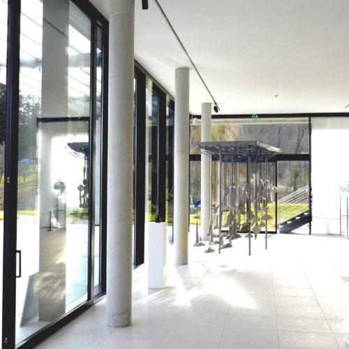 Baies coulissantes et murs rideaux aluminium Schuco
